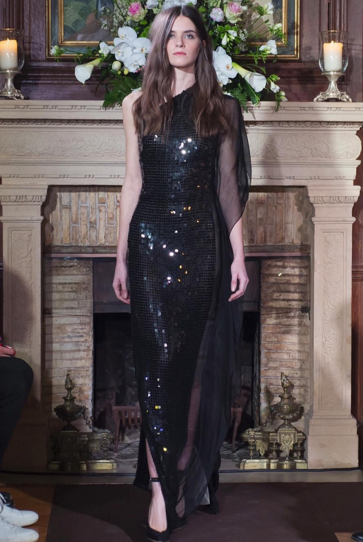 black sequin maxi dress1