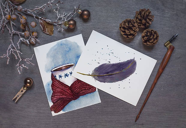PSD Christmas Mockup