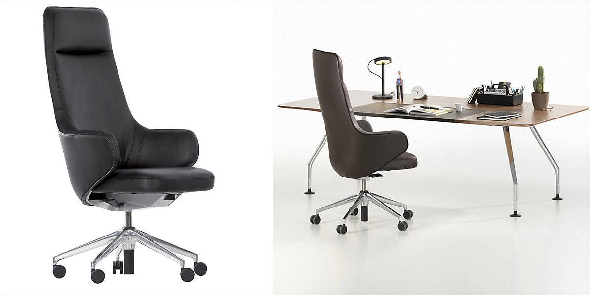 vitra skape highback chair