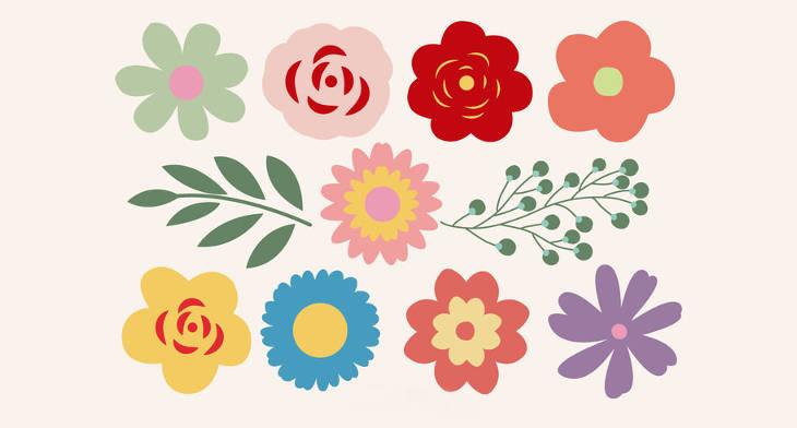 20 Flower Vectors Eps Png Jpg Svg Design Trends Premium