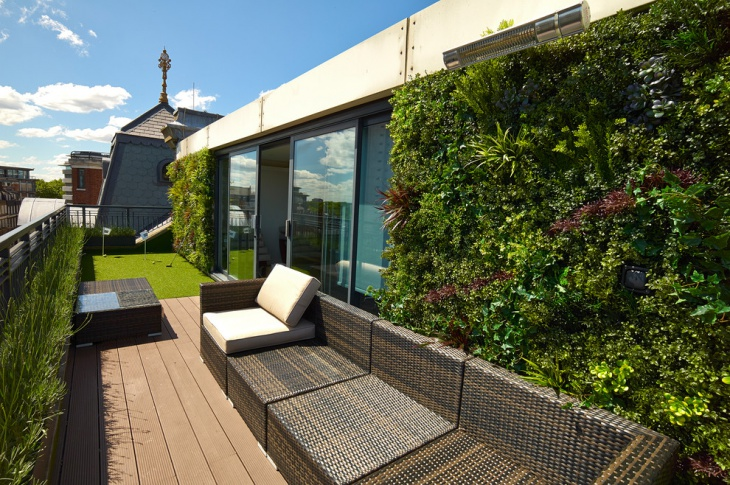 Terrace Vertical Garden Design