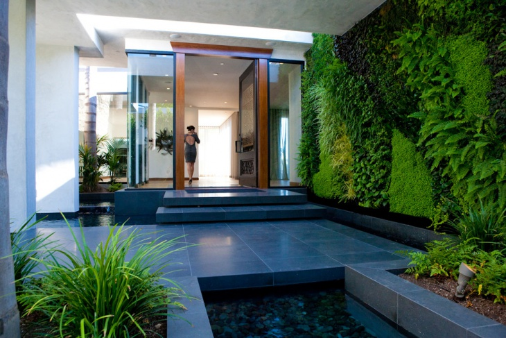 Modern Interior Vertical Garden Design
