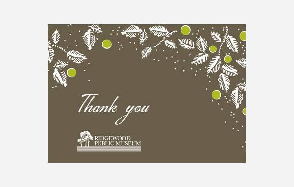 Business Holiday Thank You Celebration Card