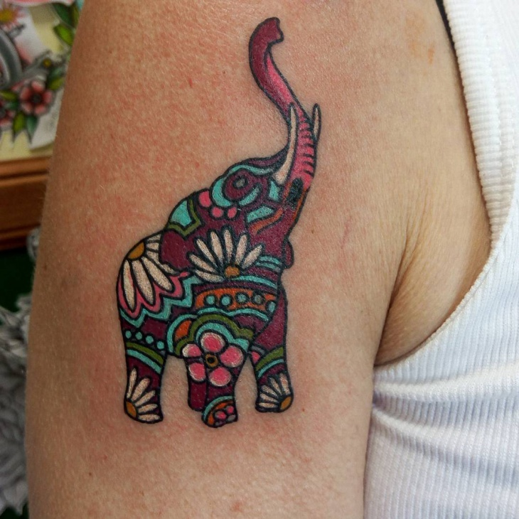 31 elephant tattoo designs ideas design trends for Embossed tattoo designs