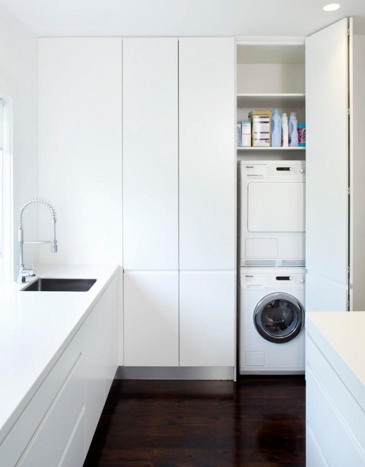 Laundry Closet Remodel Idea