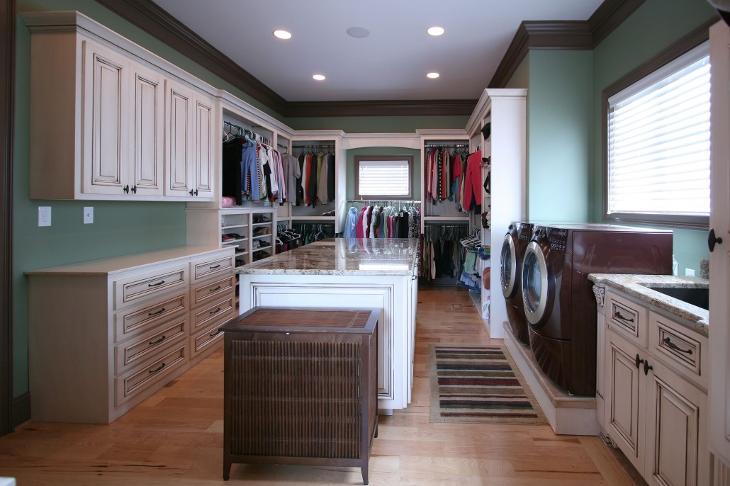 Laundry Closet Cabinets