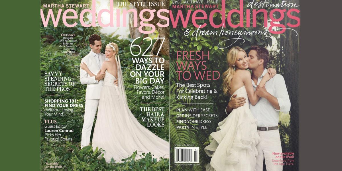 martha stewart wedding magazine
