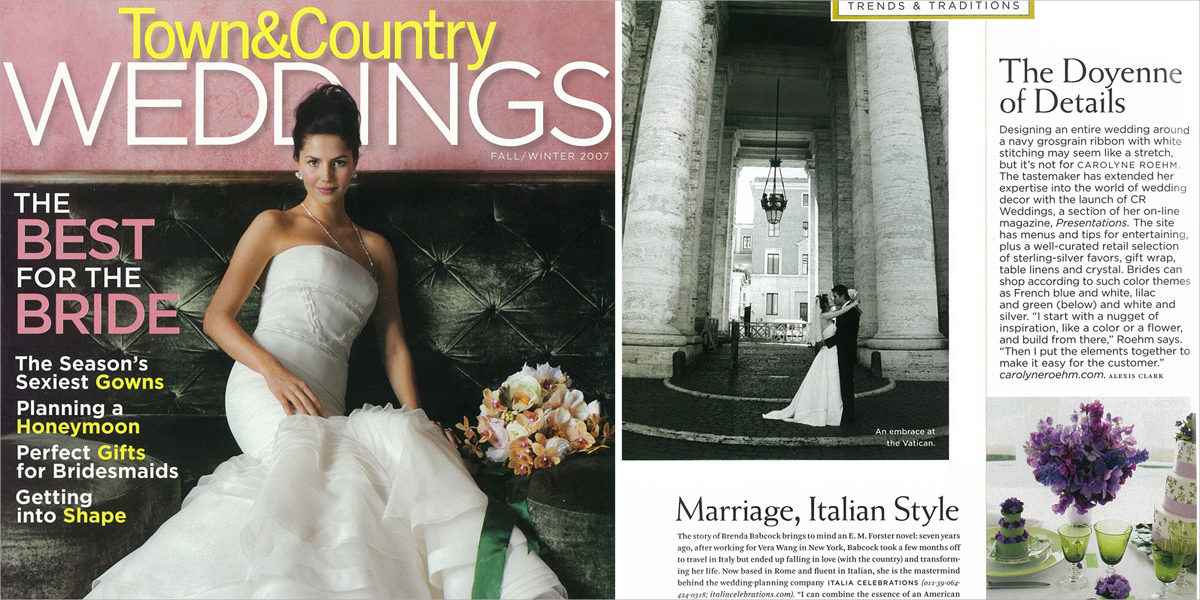 town country weddings magazine