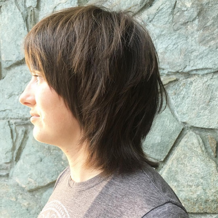 Short Choppy Layered Haircut