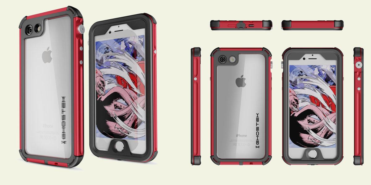 ghostek iphone 7 waterproof case atomic 3 series