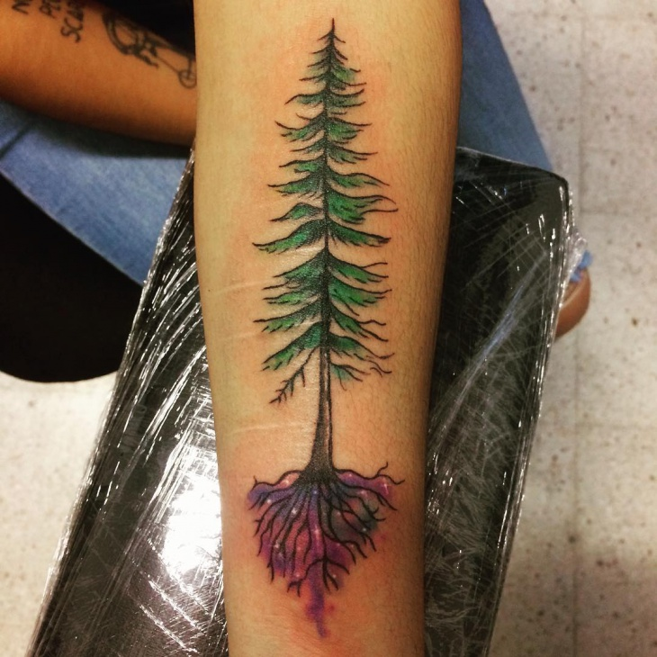 40 forearm tattoo designs ideas design trends for Tree tattoo on forearm