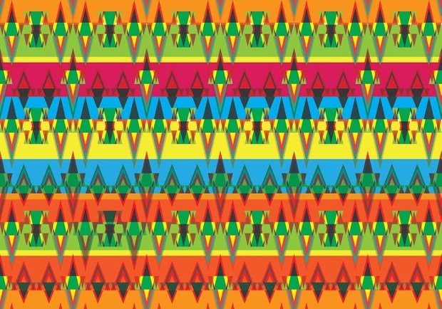 vector aztec pattern