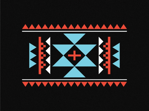 Simple Aztec Pattern