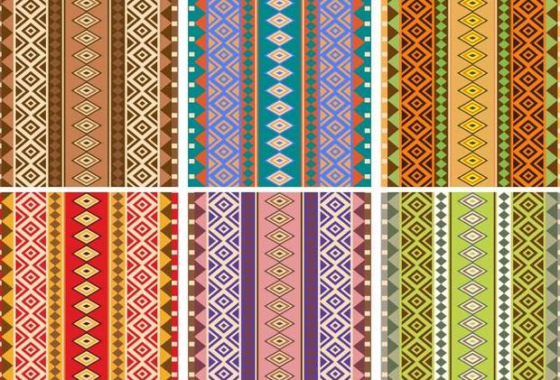 free aztec pattern