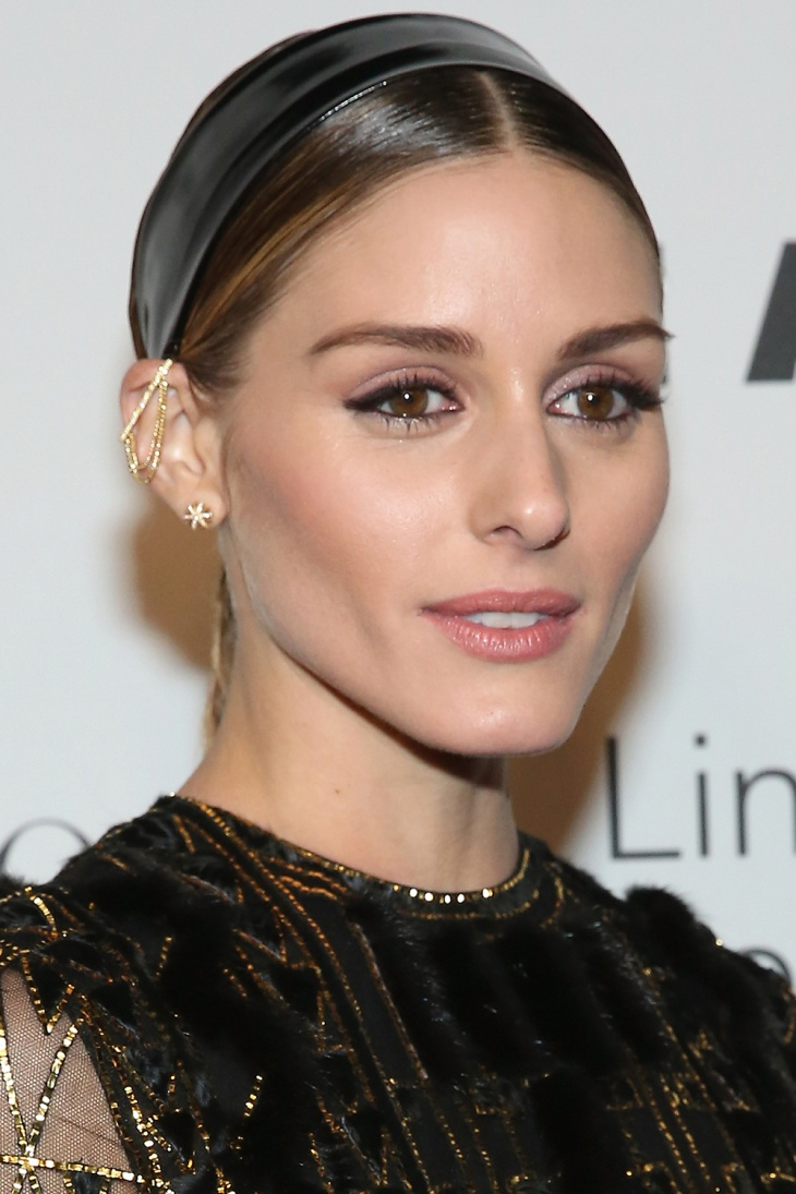 olivia palermo comb over fringe hairstyle