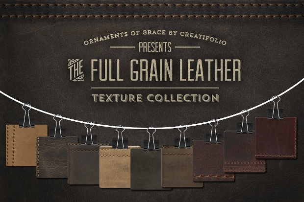 Full Grain Leather Texture