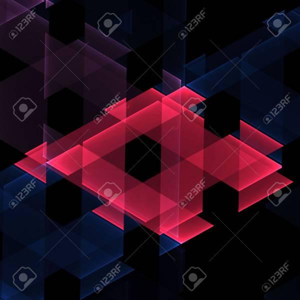woven geometric diamond shape