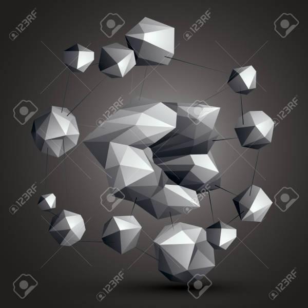 origami 3d geometric shapes