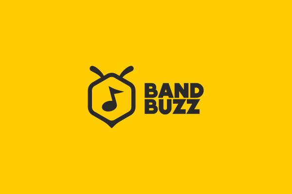 Music Band Buzz Logo