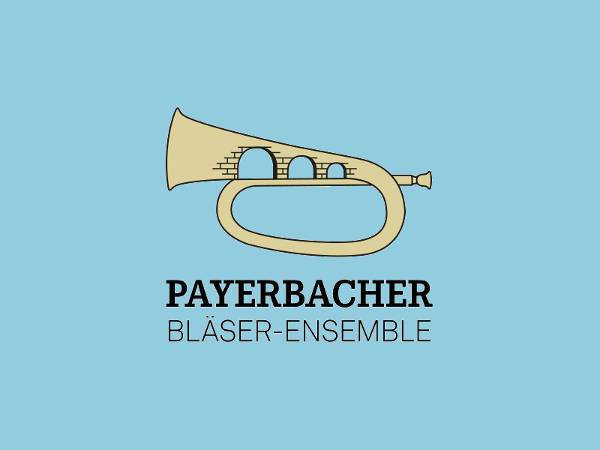 flat marching band logo