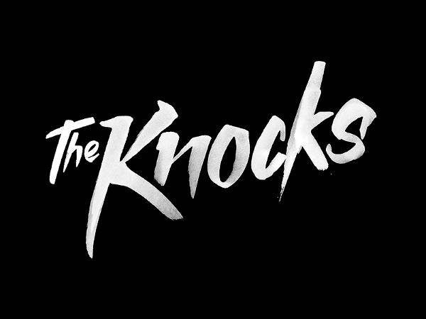 Black and White Knocks Band Logo