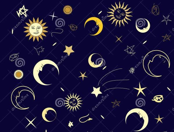 seamless night sky texture