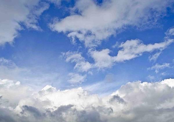 blue cloudy sky texture