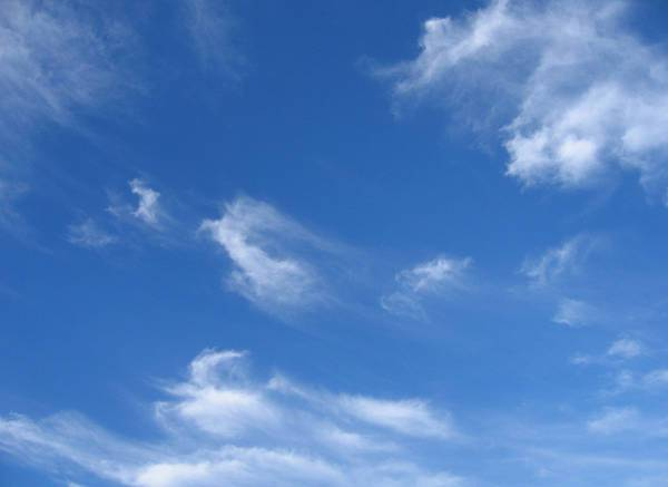 realistic blue sky texture