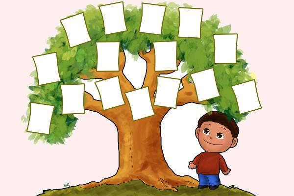 funny family tree clipart