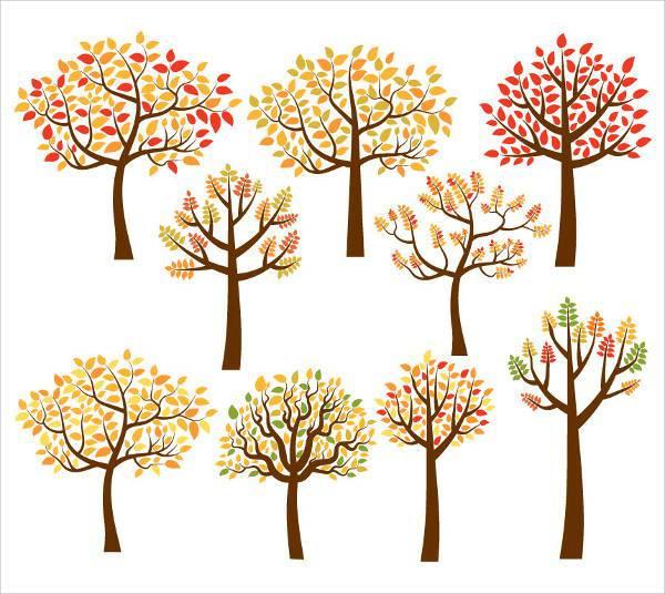 autumn fall tree clipart