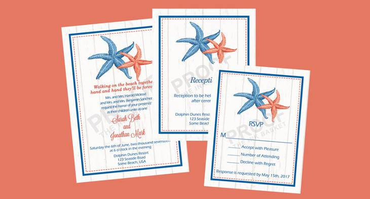 15 beach wedding invitations printable psd ai vector eps