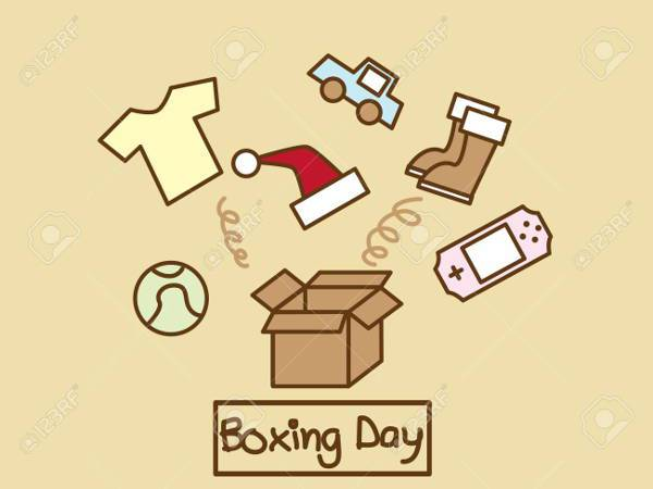 Free Boxing Day Clipart
