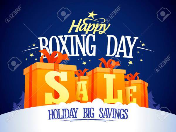 Happy Boxing Day Poster