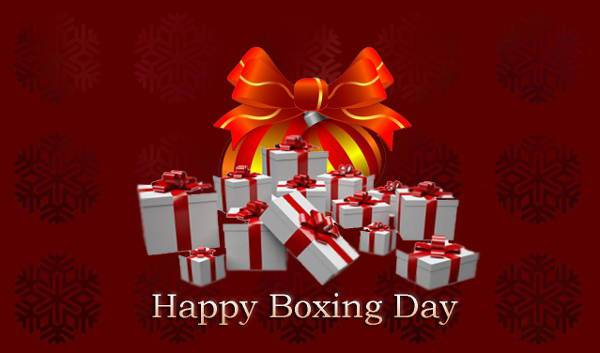 Happy Boxing Day Wallpaper