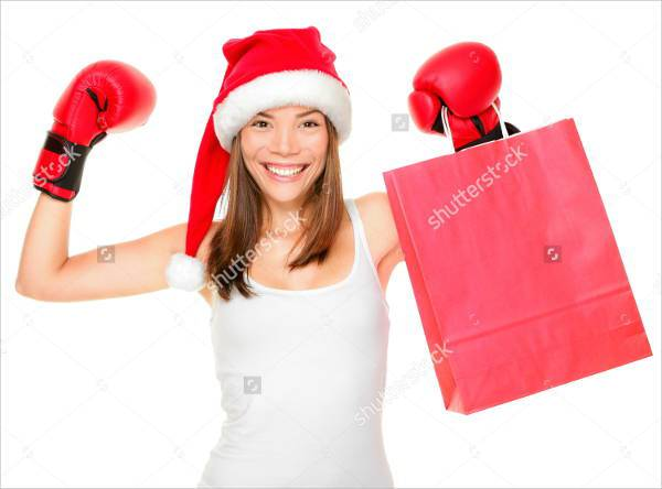 Boxing Day Concept Women Photography