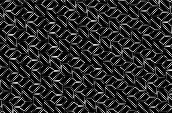 Black and White Vintage Retro Pattern