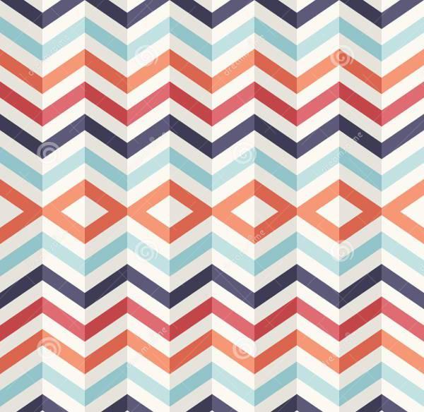 vintage 3d geometric pattern