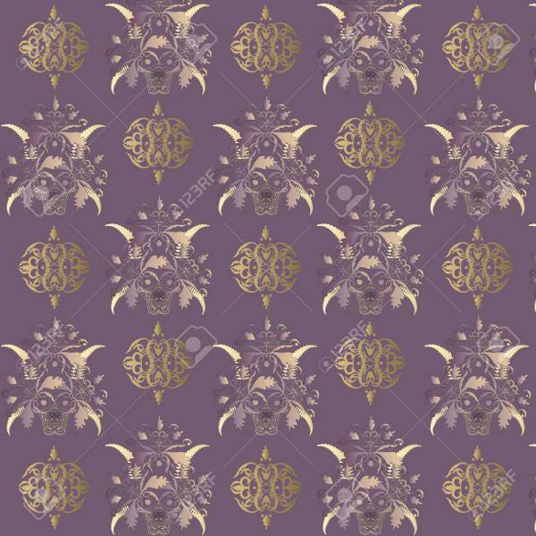 Seamless Classic Vintage Decorative Pattern