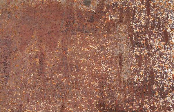 realistic brown rust texture