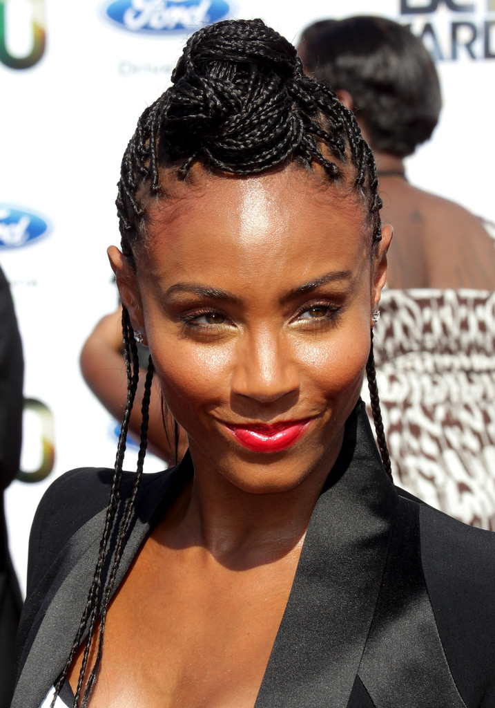 Jada Pinkett Smith Black Box Braid Hairstyle