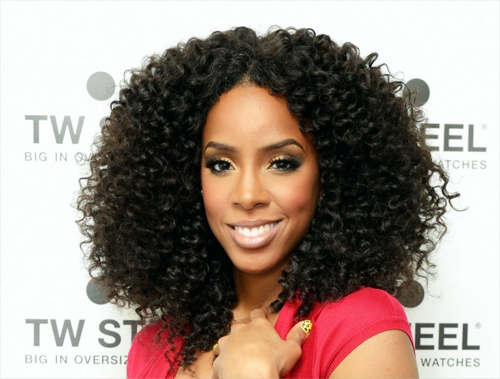 Kelly Rowland Short Crochet Braid Hairstyle