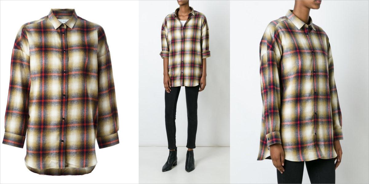 iro-plaid-button-down-shirt