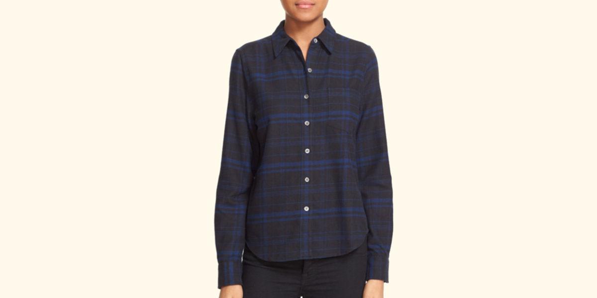 kate-moss-for-equipment-plaid-flannel-shirt