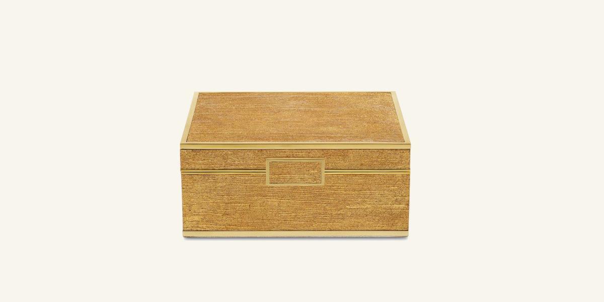 aerin small linen jewellery box