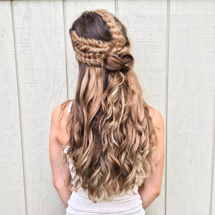 dutch bow braid hairstyle