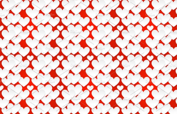 paper-heart-pattern-design