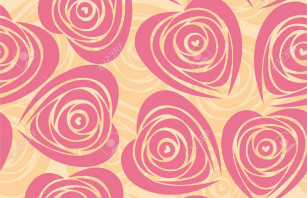 pink-rose-heart-pattern