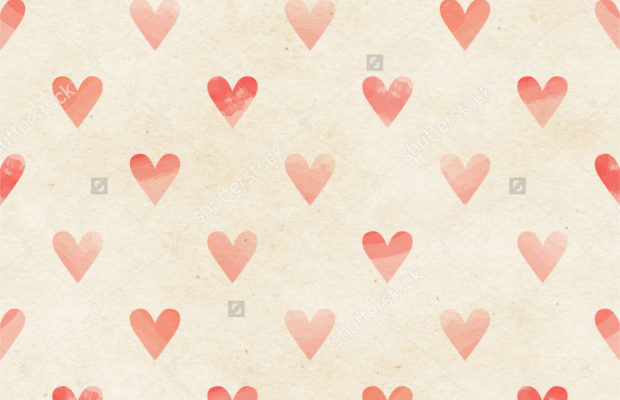 watercolor-heart-pattern
