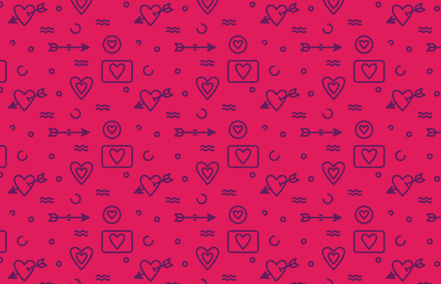 vector-heart-pattern
