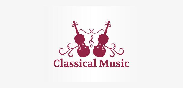 classical music logo design
